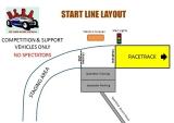 Start Line Layout